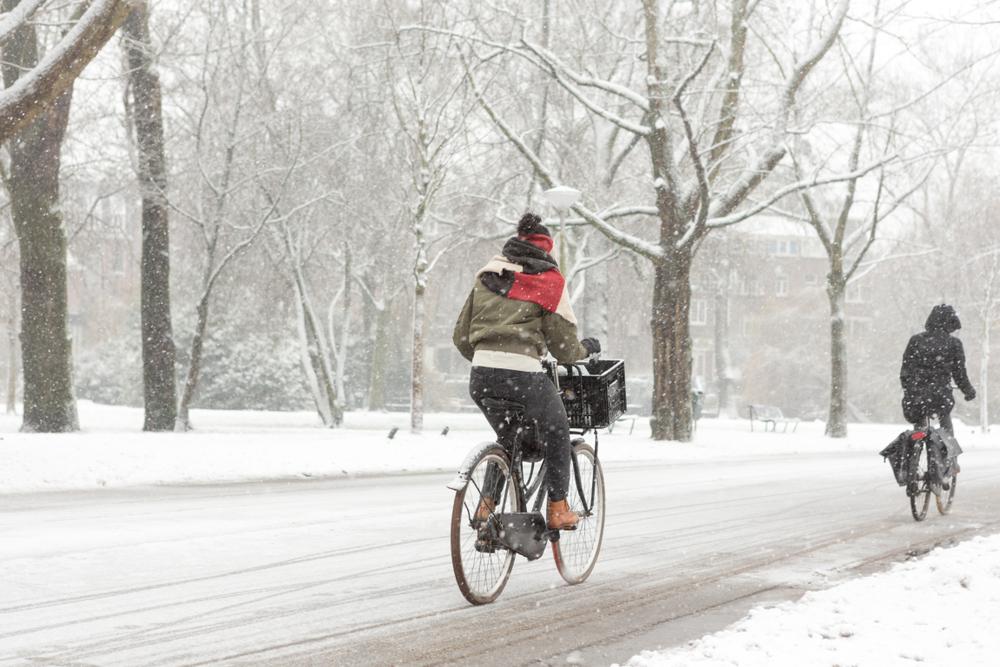 Cykling under vintern